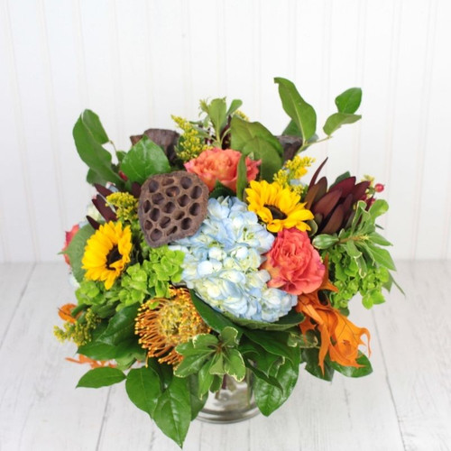 Autumn Spectacular All Flowers and Gifts Midwood Flower Shop   Charlotte Florist Delivery Service