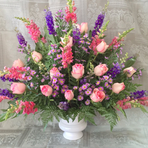 Loving Embrace Sympathy Flowers Midwood Flower Shop   Charlotte Florist Delivery Service