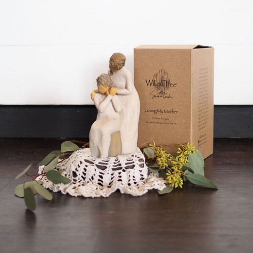 """""""Loving My Mother"""" Willow Tree Figure Virtual Flowers Midwood Flower Shop 