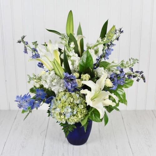 Carolina Blues New Baby Flowers Midwood Flower Shop | Charlotte Florist Delivery Service