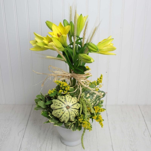 Autumns Topiary Fall Flowers Midwood Flower Shop | Charlotte Florist Delivery Service