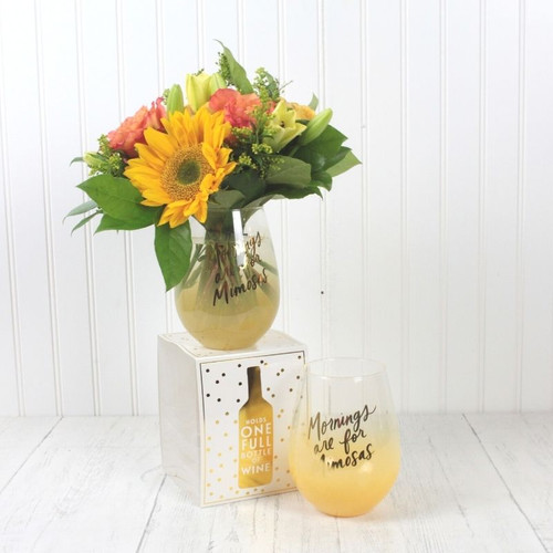 Morning Mimosa Fall Flowers Midwood Flower Shop | Charlotte Florist Delivery Service