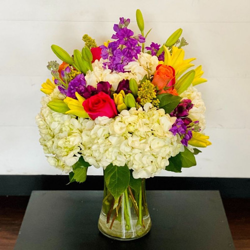 Rainbow Blooms Mother's Day Flowers Midwood Flower Shop | Charlotte Florist Delivery Service