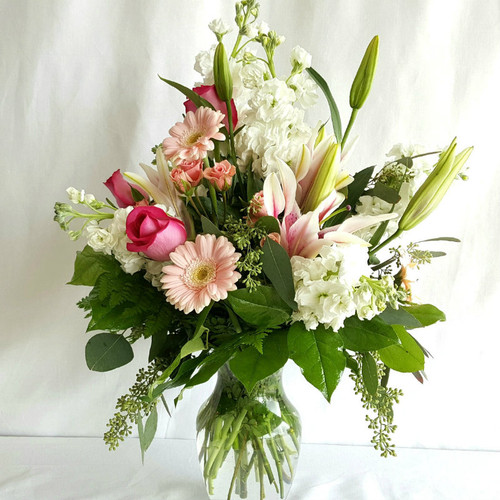 Pink Dreams Flower Bouquet Birthday Flowers Midwood Flower Shop | Charlotte Florist Delivery Service