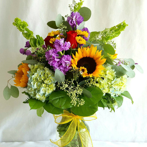 Summer Breeze Bouquet Get Well Flowers Midwood Flower Shop   Charlotte Florist Delivery Service