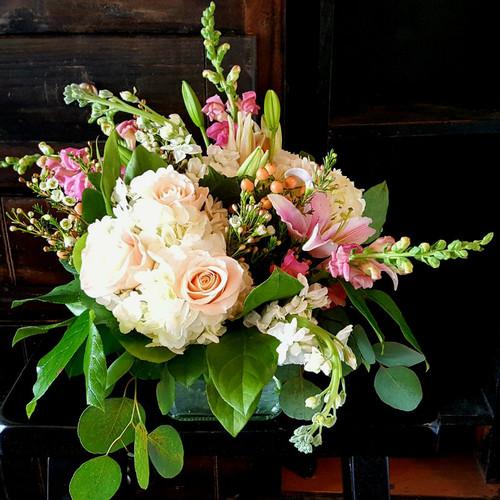 Queen's Tribute Vase of Flowers Sympathy Flowers Midwood Flower Shop | Charlotte Florist Delivery Service