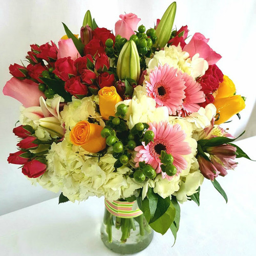 Fashionable Blooms Birthday Flowers Midwood Flower Shop | Charlotte Florist Delivery Service
