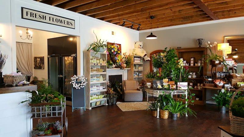 Midwood Flower Shop, Charlotte NC Inside of Store