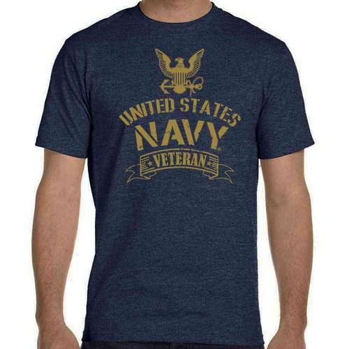 officially licensed us navy veteran tshirt eagle emblem