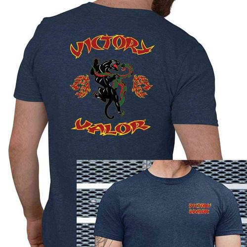 panther vinyl tshirt victory valor