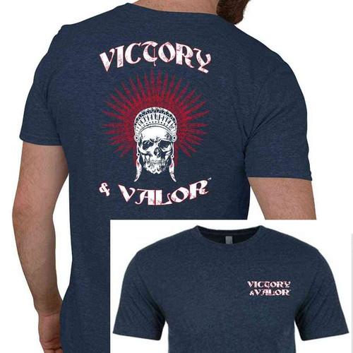 skull tshirt victory valor