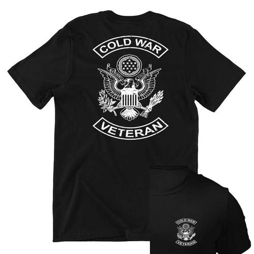 cold war veteran tshirt eagle emblem