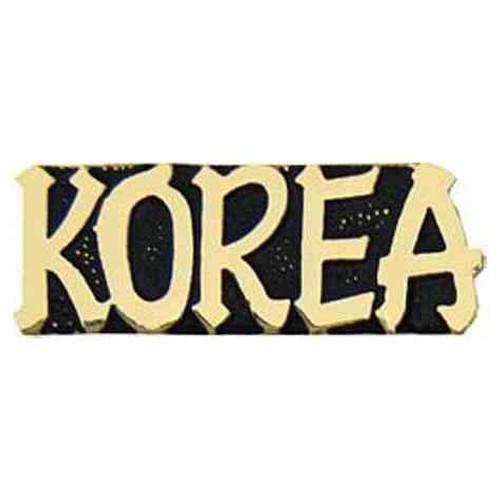 korea hat lapel pin