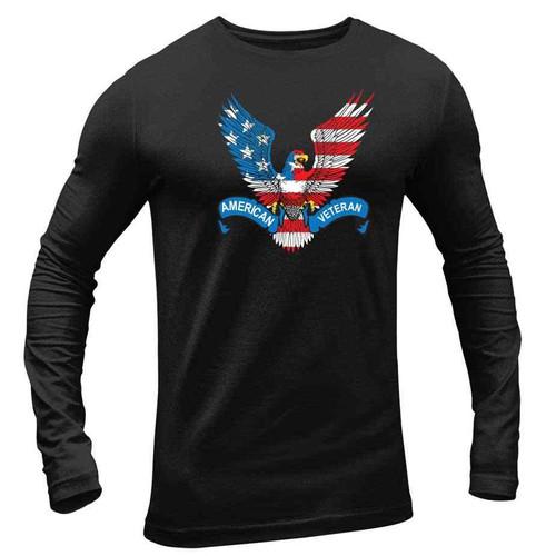 american veteran long sleeve shirt eagle