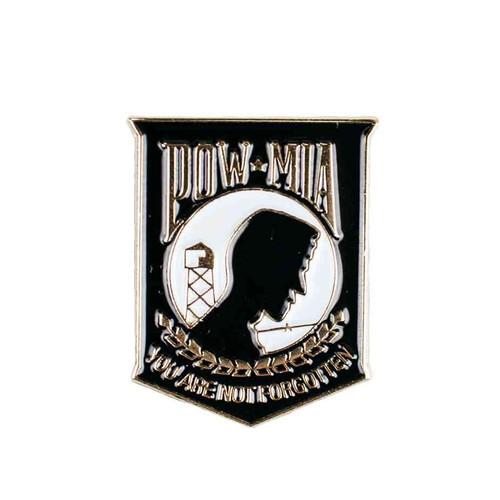 pow not forgotten hat lapel pin