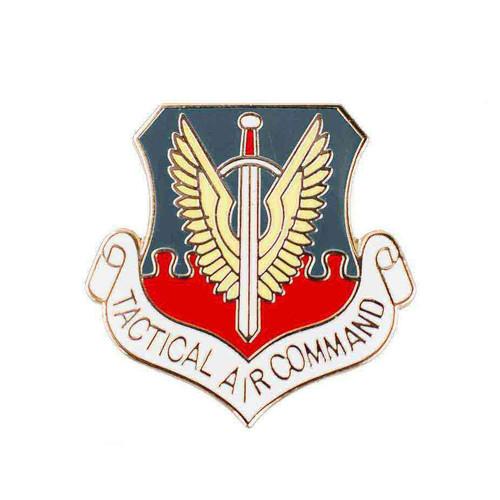 air force tactical air cmd hat lapel pin