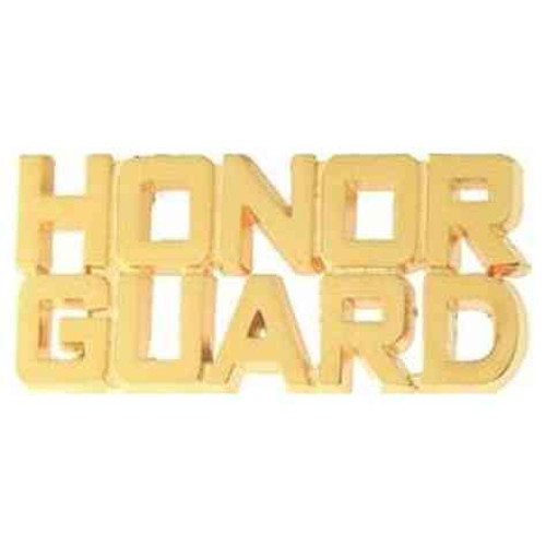 honor guard hat lapel pin