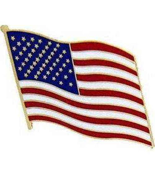 us flag rt hat lapel pin