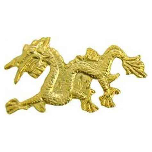 asian dragon hat lapel pin