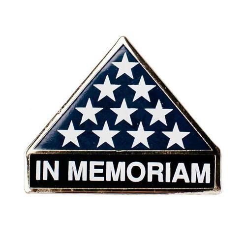 in memoriam hat lapel pin