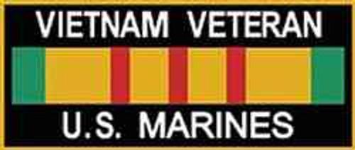vietnam veteran u s marines magnet