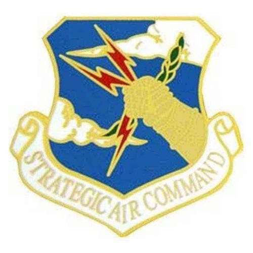 air force strategic air cmd hat lapel pin