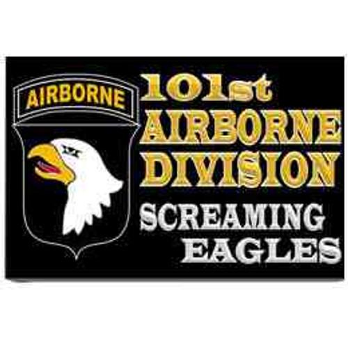 101st airborne division screaming eagles refrigerator magnet