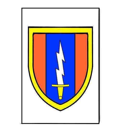 army 1st signal brigade magnet