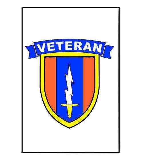 army 1st signal brigade veteran magnet