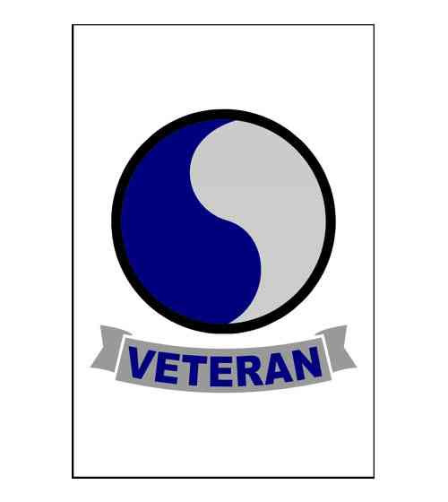 army 29th infantry division veteran refrigerator magnet