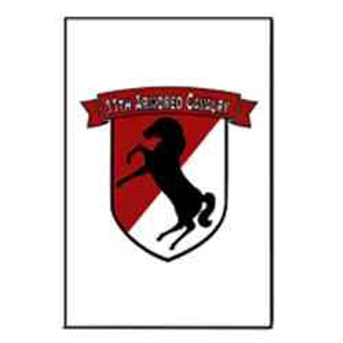 army 11th armored cavalry ribbon refrigerator magnet