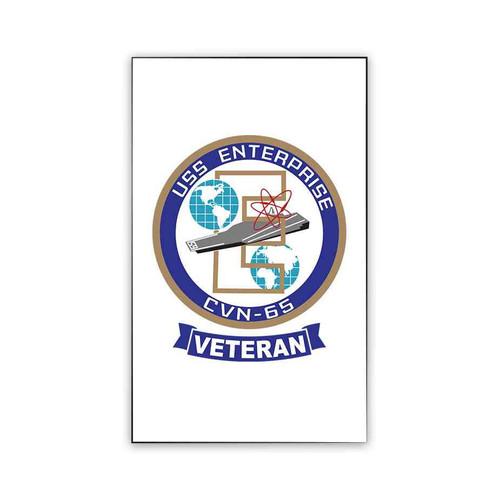 navy uss enterprise veteran refrigerator magnet
