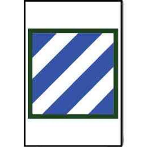 army 3rd infantry refrigerator magnet