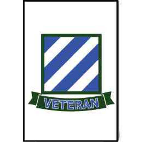 army 3rd infantry veteran refrigerator magnet