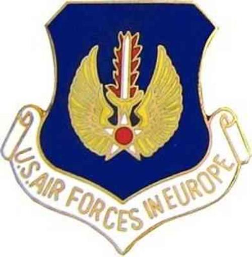 air force europe hat lapel pin
