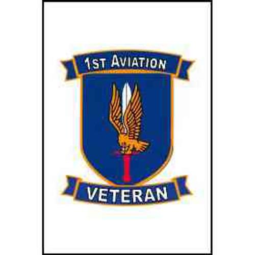 us army 1st aviation brigade veteran refrigerator magnet