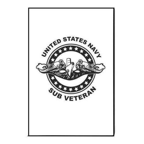 navy submarine badge veteran refrigerator magnet