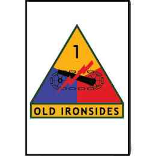 1st armored division old ironsides refrigerator magnet