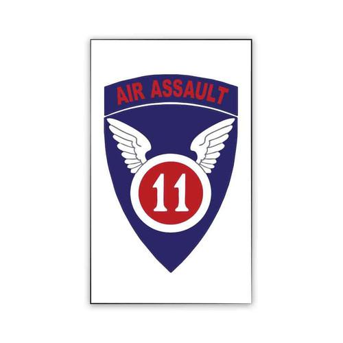 11th air assault magnet