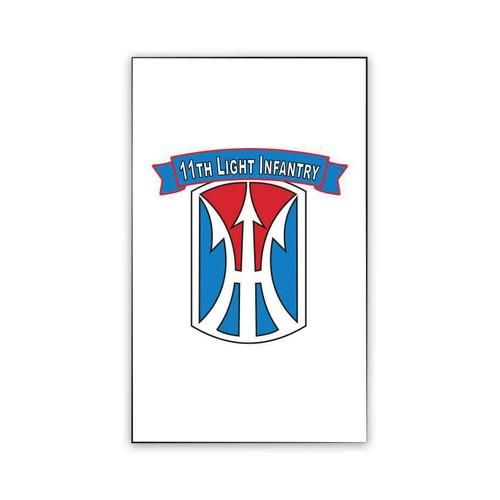 11th light infantry brigade magnet