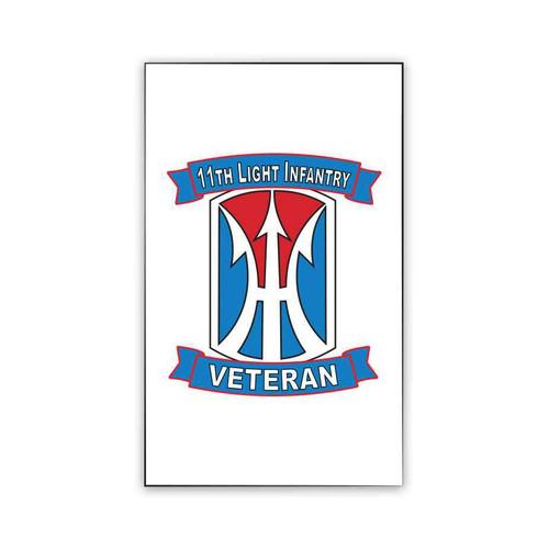 11th light infantry brigade veteran magnet