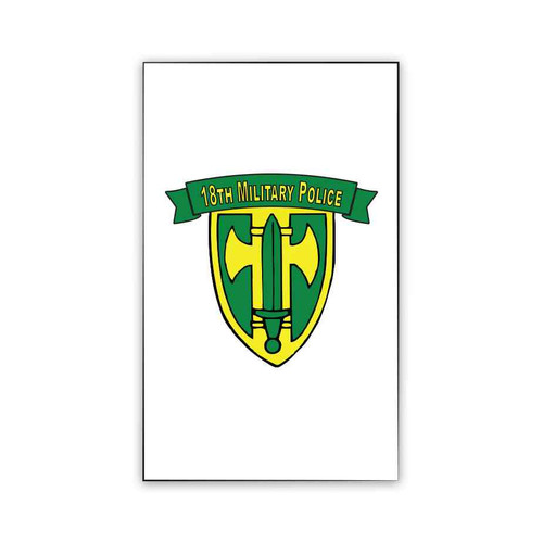 18th military police brigade magnet