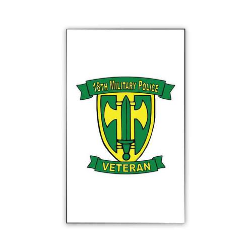 18th military police brigade veteran magnet