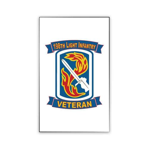 198th light infantry brigade veteran magnet