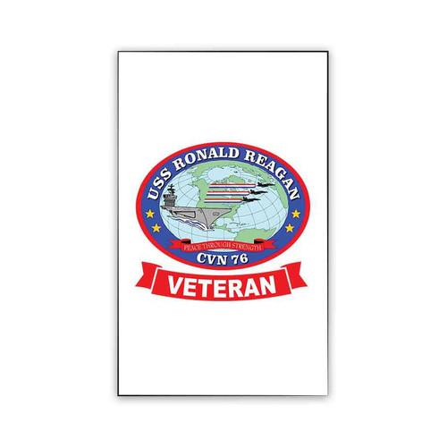 uss ronald reagan veteran magnet