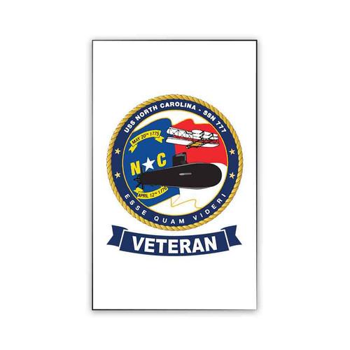 uss north carolina veteran magnet