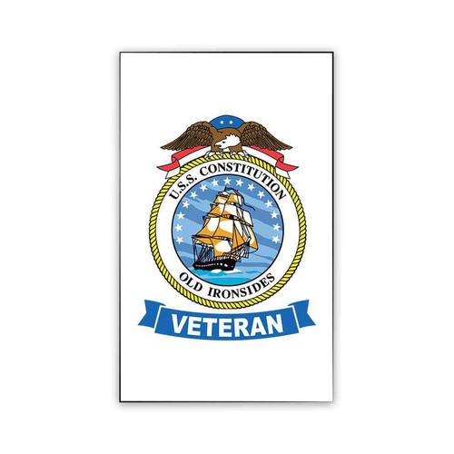 uss constitution veteran magnet