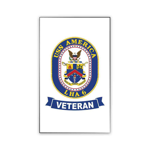 uss america veteran magnet