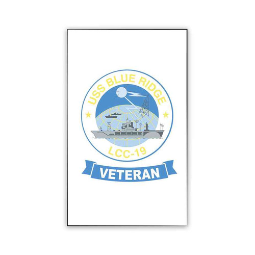 uss blue ridge veteran magnet