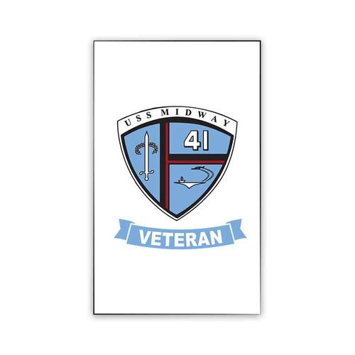 uss midway veteran magnet